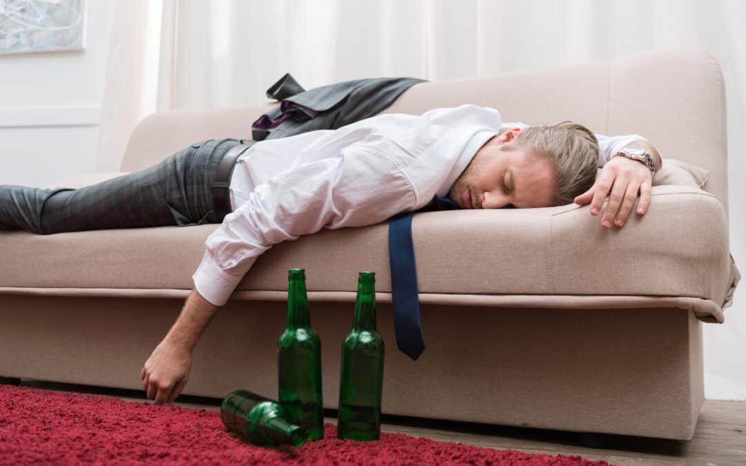 Het effect van alcohol op slapen