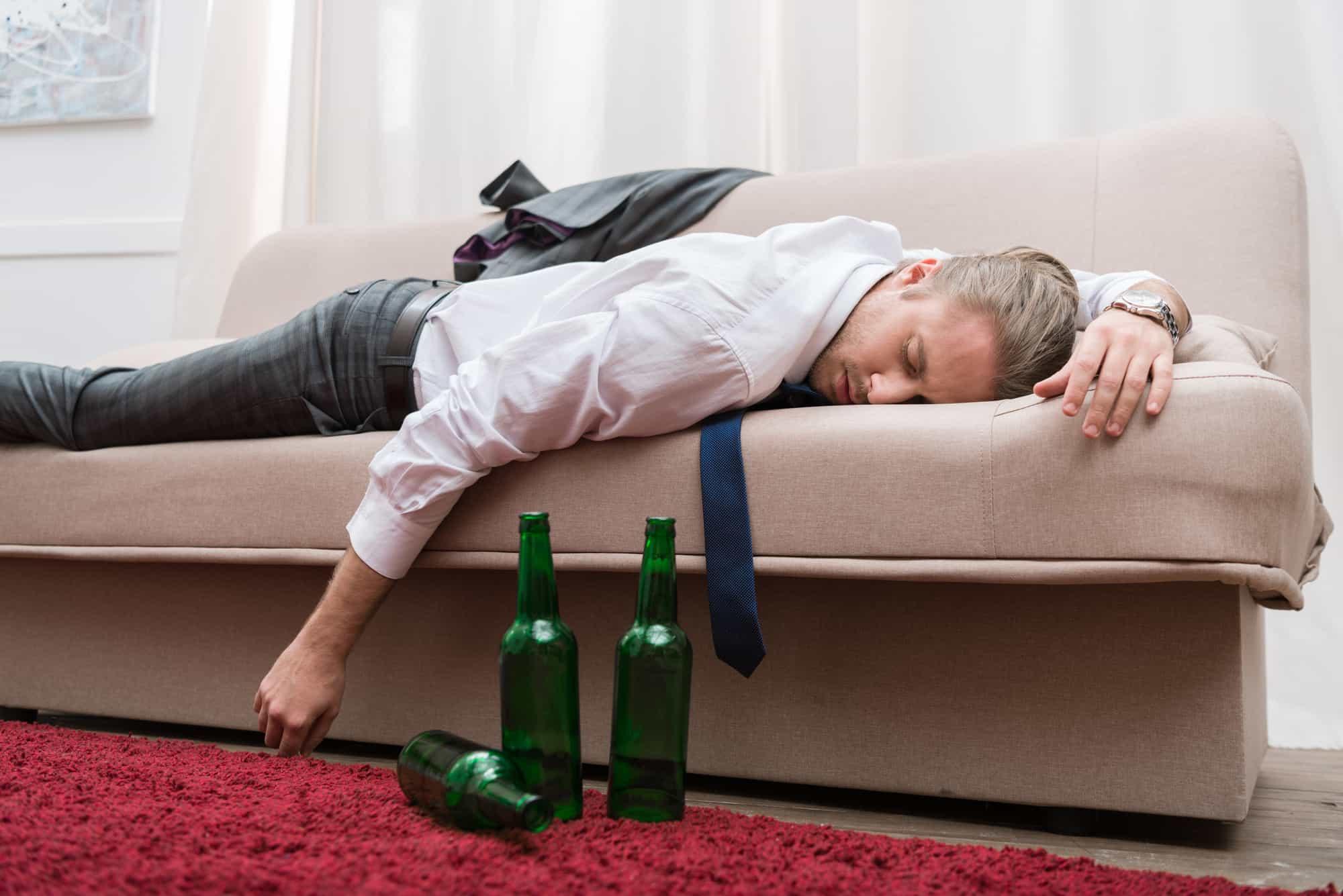 Het effect van alcohol op slaap