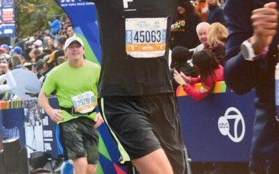 De New York Marathon en CBD-olie