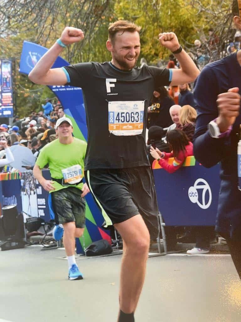 NY Marathon met CBD olie voor het herstel